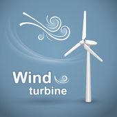 Wind turbine Wind-powered electrical generator