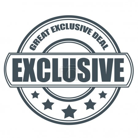 great exclusive deal stamp