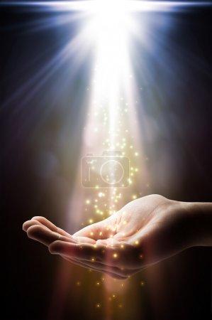Faith falls on your hand...