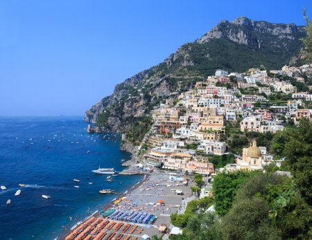 Positano view from above