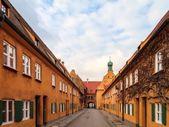 Fuggerei v Augsburgu