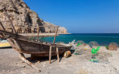 Fishing boat on the way to Musandam