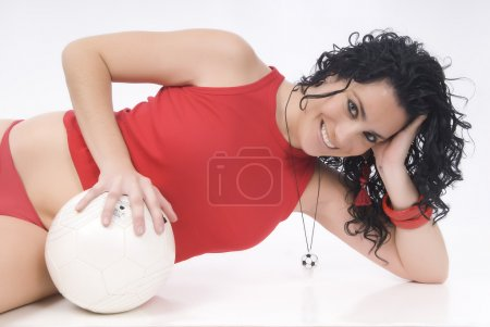 Sexy soccer or football player