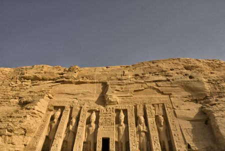 Photo pour Temple de la reine Néfertari à abou simbel, Égypte - image libre de droit