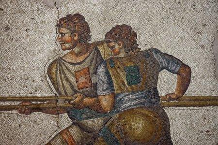 Magnigficent византийская мозаика