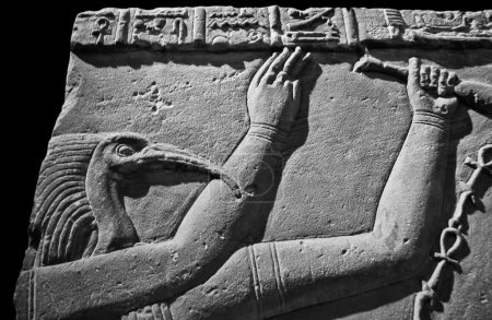 A carving of the Ancient Egyptian god Thoth. Thoth...