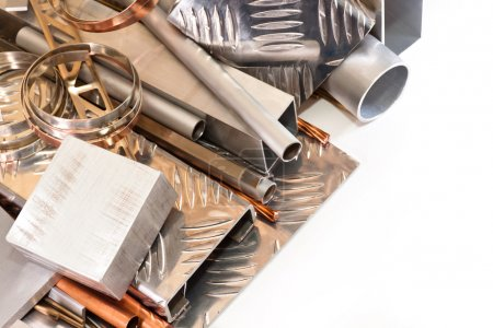 A set of non-ferrous metals