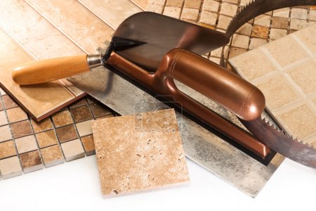 Ceramic tiles for repair of apartments