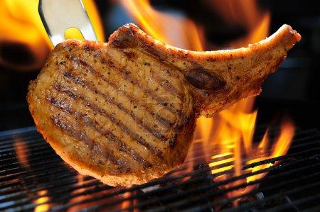 Barbecue Pork chop...