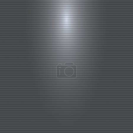 Vector gray or black background with stripes pattern and light source
