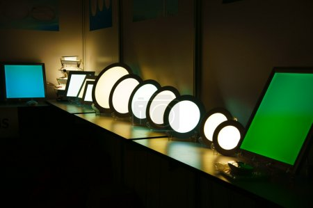 Group of luxury lamp