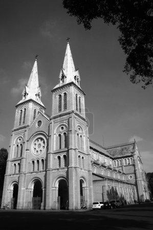 abtract architektur des duc ba kathedrale