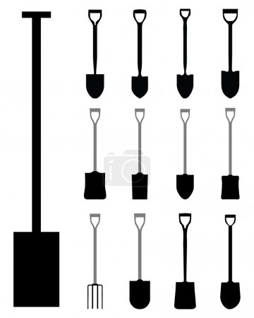 Shovels and villas