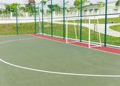 Futsal court.