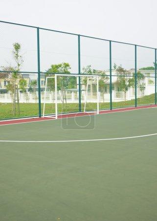 Public futsal court.