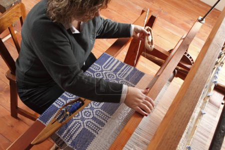 Old and new weaving