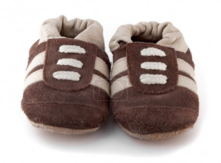 baby shoes isolated on a white background