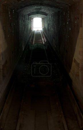 Light in tunnel