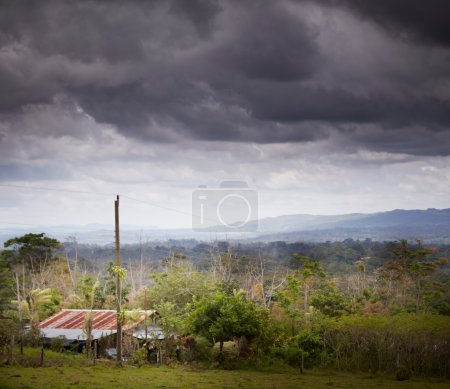 Countryside with sky