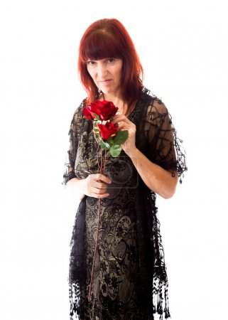Woman rejected flowers