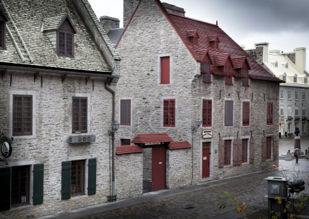 Houses in old town