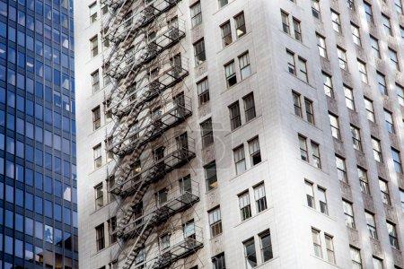 Facade of skyscrapers