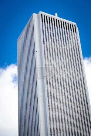 Gray skyscraper