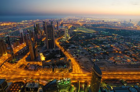 Downtown of Dubai (United Arab Emirates)