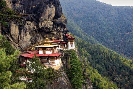 Taktshang Goemba(Tigers Nest Monastery), Bhutan