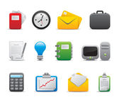 3D Office icon and logo set for entrepreneur and small and big business company corporation