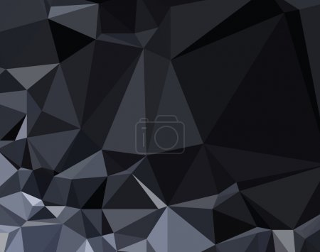 Background abstract triangle geometry pattern dark crystal