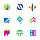 Line stripe tape elegant shape exclusive bond connection logo icon