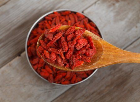 Useful goji berries