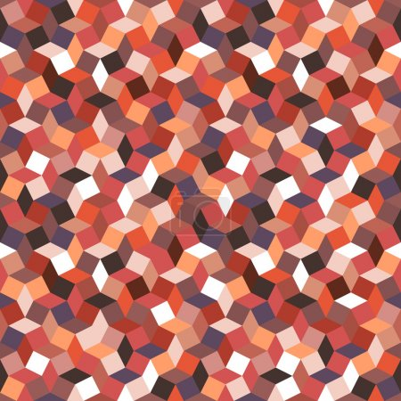 Bright Seamless geometric pattern