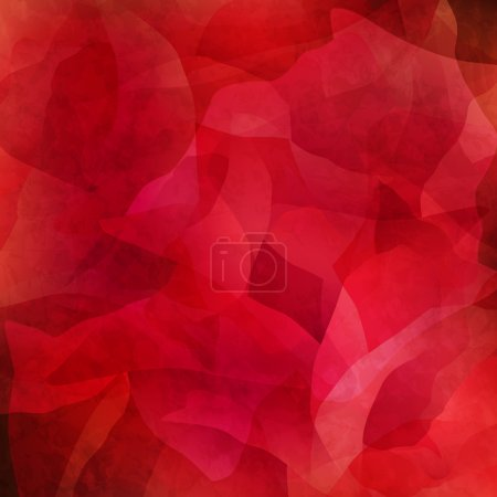 Illustration for Abstract grungy red background - Royalty Free Image