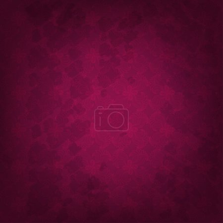 Seamless floral grunge background. Raster copy of vector image