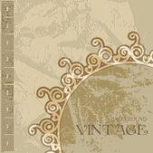 """Постер, картина, фотообои """"Текстура старой штукатурки от древние греческие орнаменты"""""""