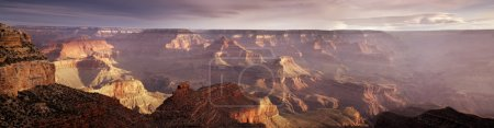 Photo for This majestic sunrise photo at the South Rim of the Grand Canyon captures the amazing layers of landscape and quality of light. - Royalty Free Image