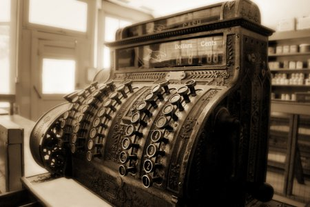Old Fashioned Cash Register