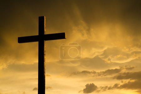 Jesus's dying on the cross and rising again