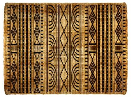 Photo pour Contexte africain abstrait - image libre de droit
