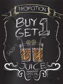 Buy one Get one juice