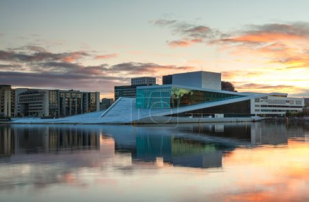 The Royal Opera House in Oslo