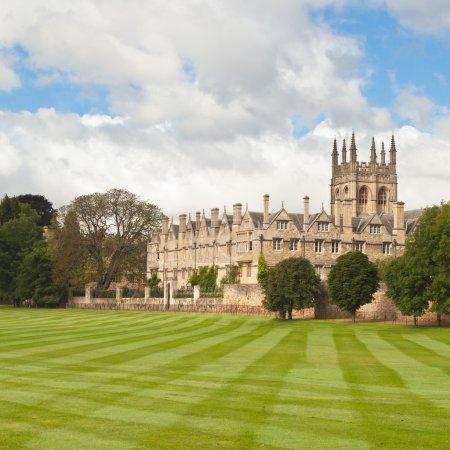 Photo pour L'université d'Oxford - image libre de droit
