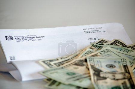Ein Brief, der Geld will