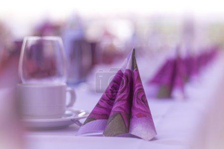 High class arrangement for e.g. a wedding, birthda...