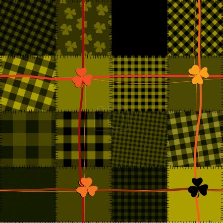 Checked Patrick pattern