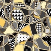 Seamless background pattern Fashion background