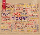Hipster word composition