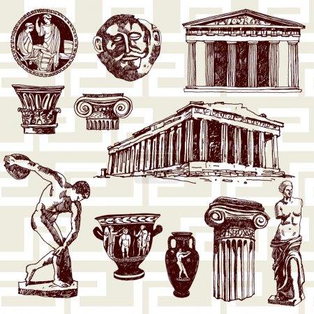 Elementos de la Antigua Grecia
